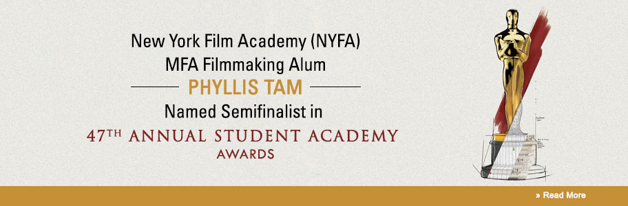 Phyllis Tram Semifinalist in Student Academy Awards