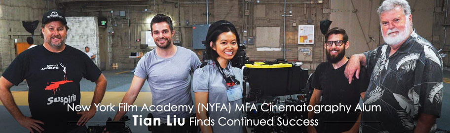 NYFA Cinematography Alum Finds Success