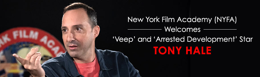 NYFA Welcomes Actor Tony Hale