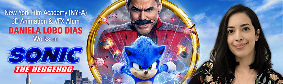 New York Film Academy Nyfa 3d Animation Vfx Alum Daniela Lobo Dias Works On Sonic The Hedgehog