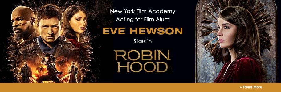 NYFA Alum Eve Hewson Stars in Robin Hood