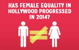 Has female equality in Hollywood progressed in 2014?