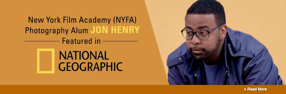 NYFA Alum Jon Henry Featured in National Geographic