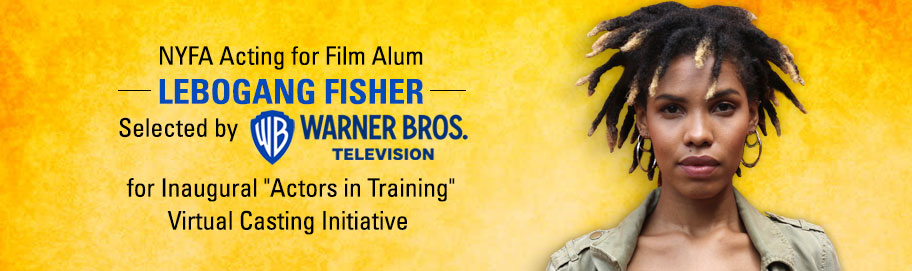 NYFA's Lebogang Fisher Selected for New Program by Warner Bros.