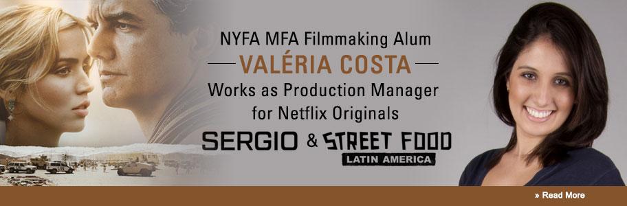 NYFA Filmmaking Alum Works on Netflix Originals