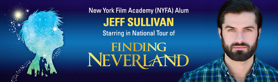 New York Film Academy (NYFA) Alum Jeff Sullivan Starring in National Tour of Finding Neverland