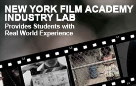 NYFA Industry Lab provides students with real world experience