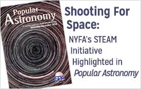 NYFA's Steam Initiative featured in Popular Astronomy