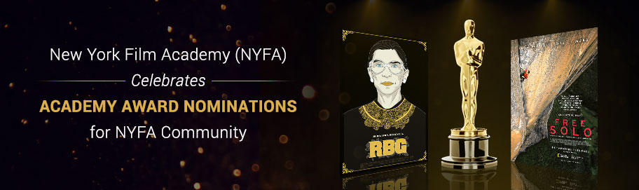 New York Film Academy (NYFA) Celebrates Academy Award Nominations for NYFA Community