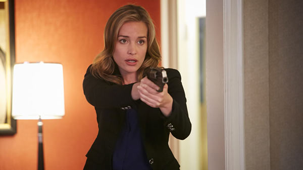Perabo as Annie Walker on USA drama 'Covert Affairs'