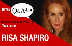 NYFA's Q&A-List Series Welcomes Manager & Producer Risa Shapiro
