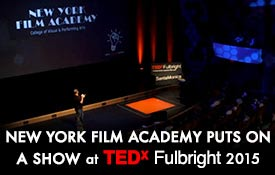 New York Film Academy at TEDx Fulbright 2015