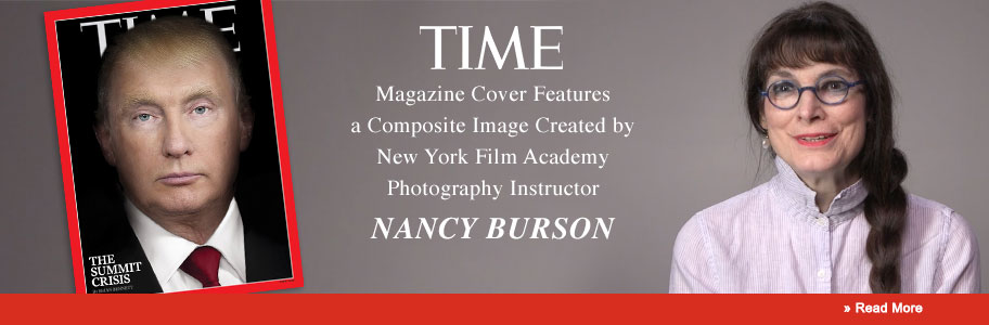 TIME Cover Features a Composite Image Created by New York Film Academy Senior Photography Instructor Nancy Burson