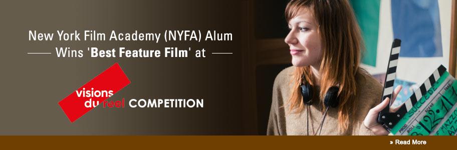 NYFA Alum Wins 'Best Feature' for 'Puntasacra'
