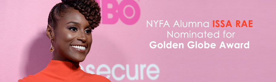 NYFA Alumna Issa Rae Nominated for Golden Globe Award