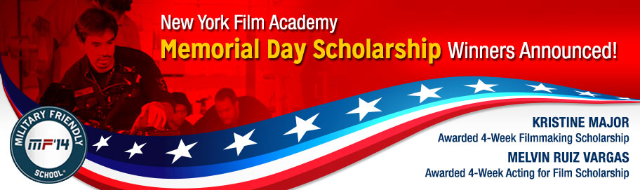 New York Film Academy Memorial Day 2014 Winners