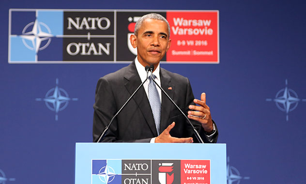 President Obama at NATO speech