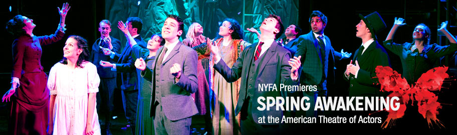 NYFA premieres Spring Awakening at the American Theatre of Actors