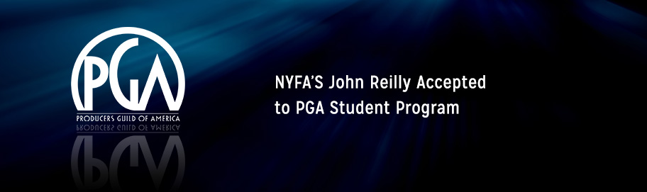 NYFA's John Reilly accepted to PGA Student Program banner