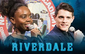 Riverdale Sneak-Peek and Q&A With Ashleigh Murray (Josie MCoy) and Casey Cott (Kevin Keller) at New York Film Academy