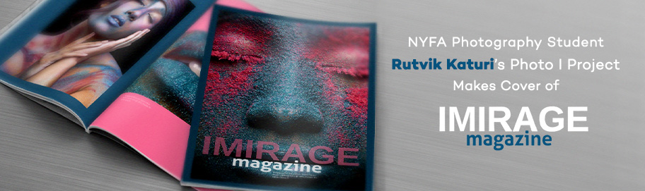 NYFA Photography Student Rutvik Katuri's Photo I Project Makes Cover of Imirage