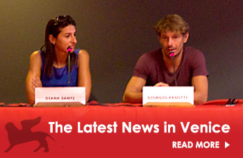 Read the latest news at the Venice Film Festival