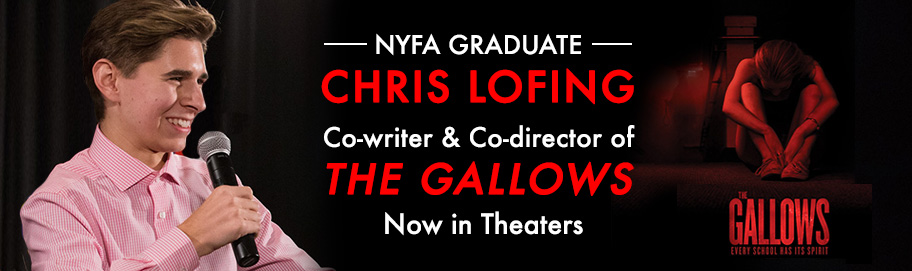 NYFA Graduate Chris Lofing's The Gallows screens in theaters worldwide