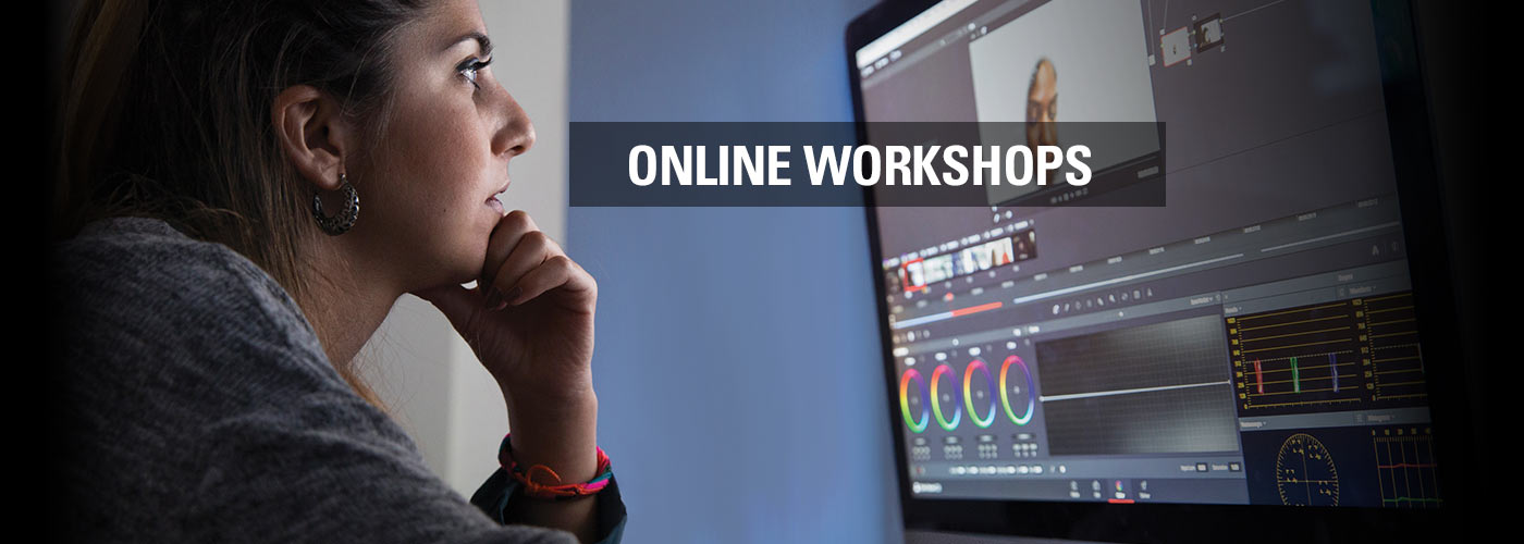 Online Workshops at NYFA!