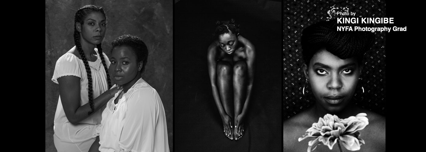 Black and white photo series by kingi kingibe