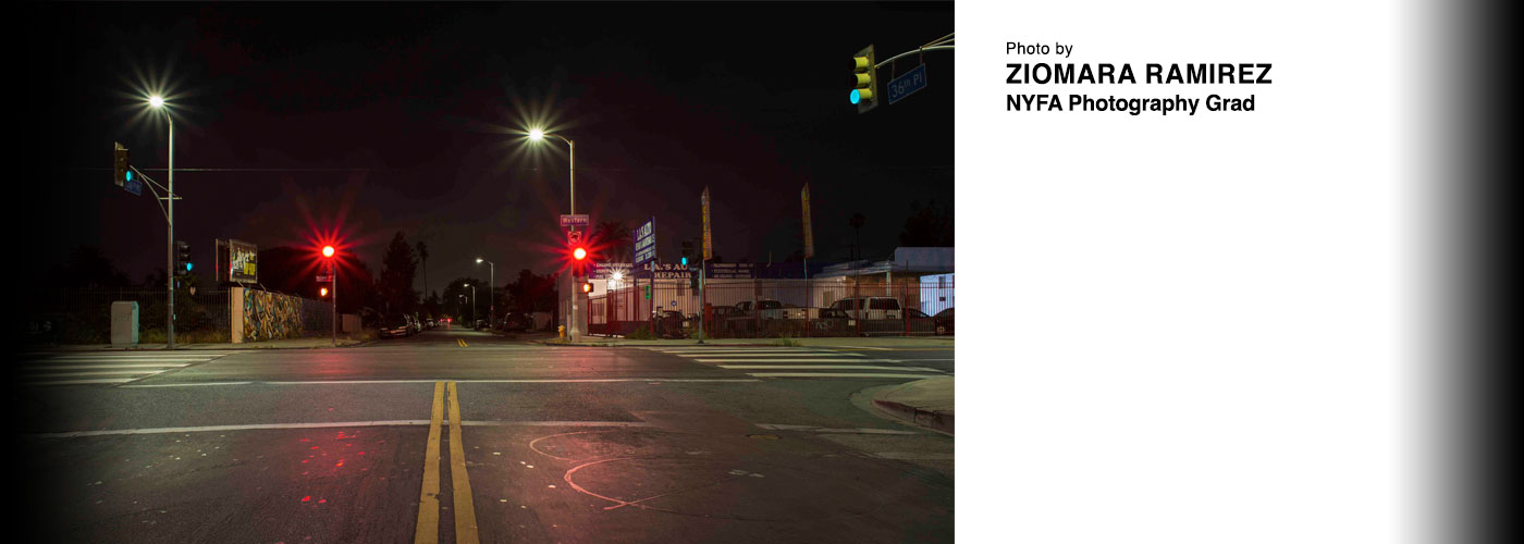 Empty intersection photo by ziomara ramirez