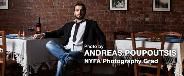 Photo by NYFA Photography Graduate Andreas Poupoutsis