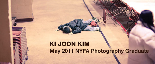 Ki Joon Kim, May 2011 NYFA Photography Graduate