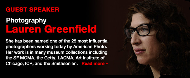 NYFA Guest Speaker Photographer Lauren Greenfield