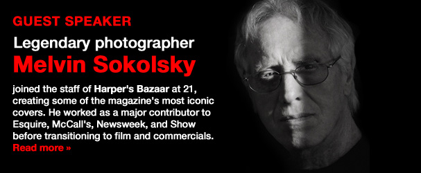 NYFA Guest Speaker Legendary Photographer Melvin Sokolsky