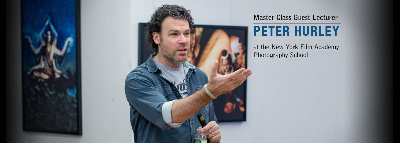 Master Cl Guest Lecturer Peter Hurley At Nyfa S Photography School