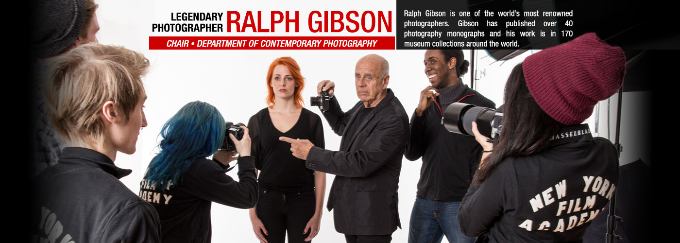 Legendary photographer Ralph Gibson is Department Chair of Contemporary Photography