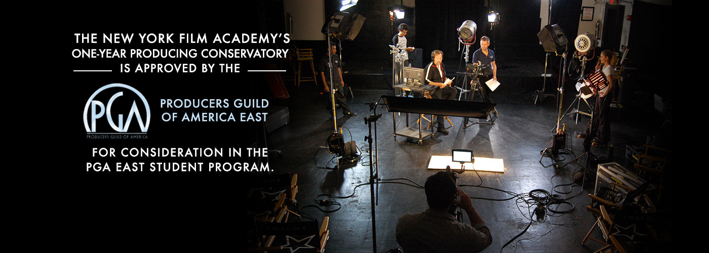 NYFA's One-Year Producing Program approved for consideration in PGA East Student Forum