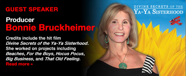 NYFA Guest Speaker Producer Bonnie Bruckheimer