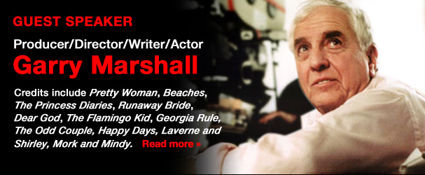 NYFA Guest Speaker Producer/Director/Writer/Actor Garry Marshall