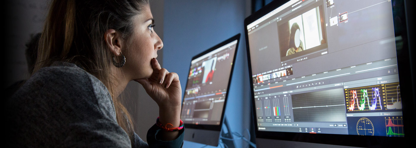 video editing courses university online