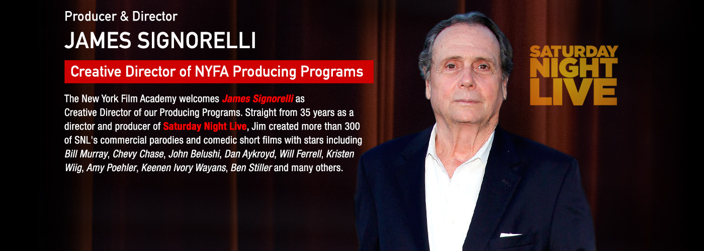 Producer & Director James Signorelli is Creative Director of NYFA's Producing Programs