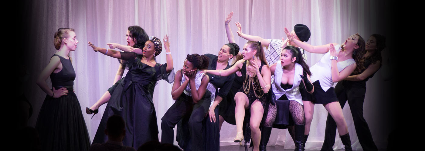 NYFA musical theatre ensemble performs 'Nine'