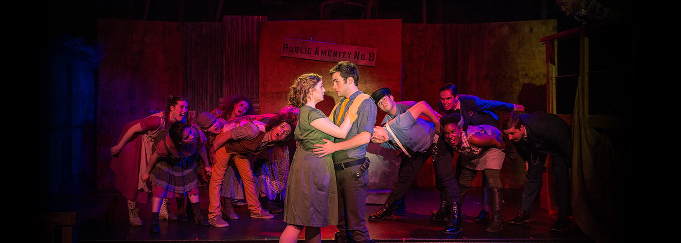 NYFA musical theatre ensemble performs 'Urinetown'