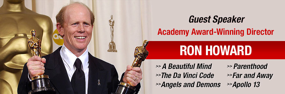 NYFA guest speaker Academy Award-winning director Ron Howard