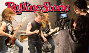 NYFA's Rolling Stone music video workshops