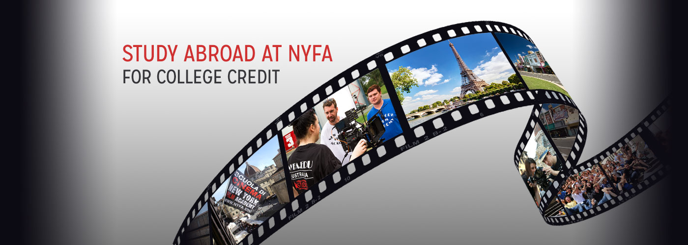 NYFA provides U.S. regionally accredited transcripts for study abroad students