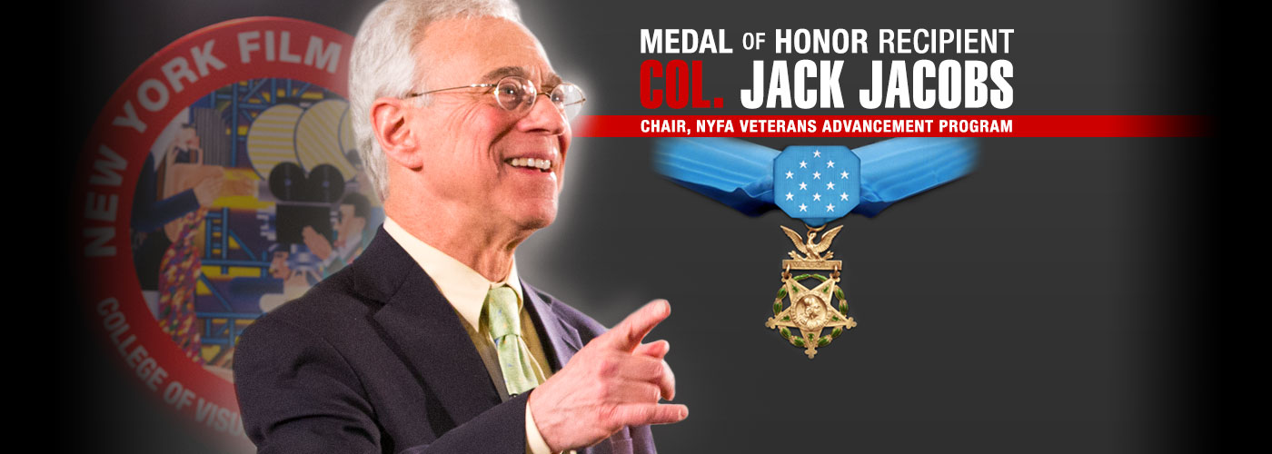 Medal of Honor Recipient Col. Jack Jacobs Chair NYFA Veterans Program