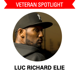 Veteran Spotlight Luc-Richard Elie