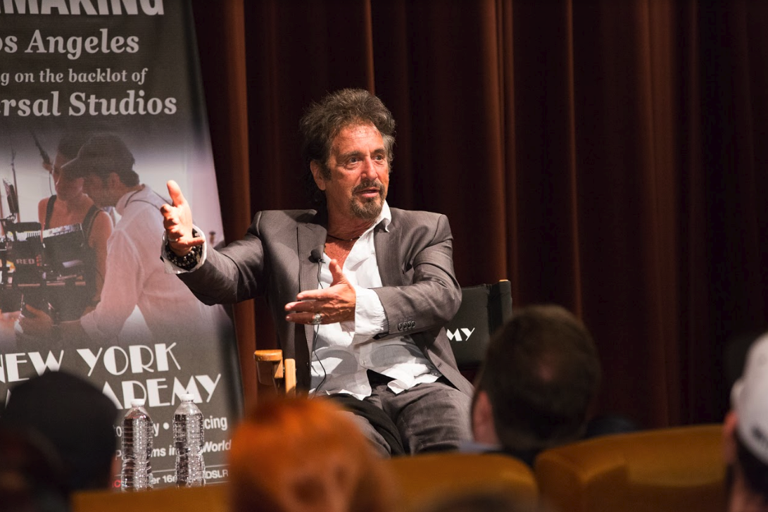Al Pacino at the New York Film Academy