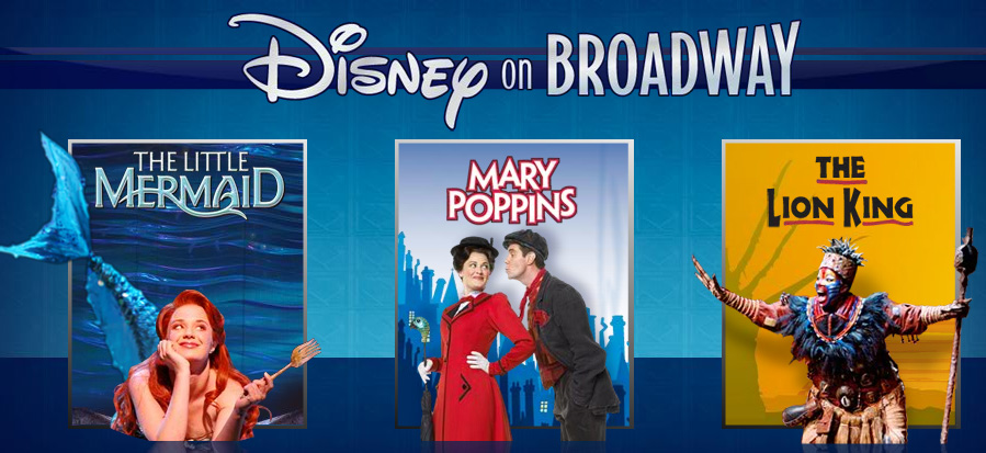 Disney On Broadway